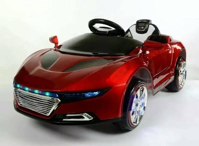 9a7850518794f 2017 Nouveaux enfants voiture électrique à quatre roues électrique  double-disque swing enfants de voiture
