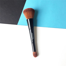 bdbeauty Full Coverage Face & Touch-up Brush - Double-ended Foundation Cream Concealer Brush - Beauty Makeup Blending Tool