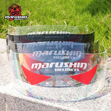 Marushin SEMIR RS2 anti fog lens full face font b helmet b font visor shield suitable