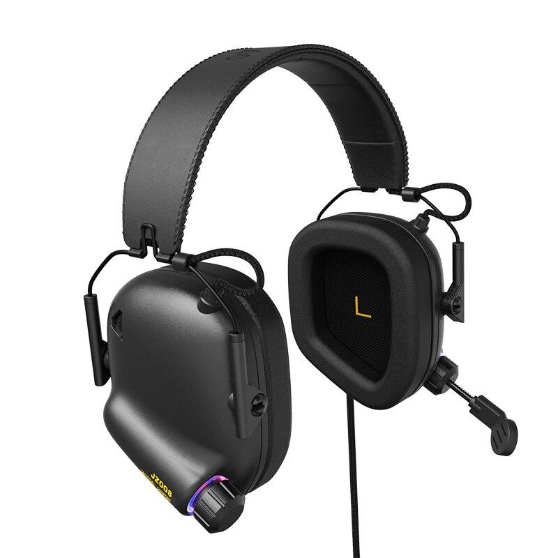 Tático Master-JZ008 Immersive Gaming Headset com Virtual 7.1 Surround Sound Jogo Jogo Do Fone De Ouvido Fones De Ouvido para PC Phone PS4