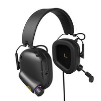 Tactical Master JZ008 Immersive Gaming Headset with Virtual 7.1 Surround Sound Game Headphones for PC Phone PS4 Game Earphone