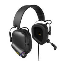 Tactical Master - JZ008 Immersive Gaming Headset with Virtual 7.1 Surround Sound Game Headphones for PC Phone PS4 Game Earphone