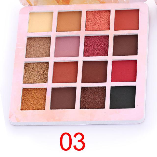 Professional 16 Colors Matte Eye Shadow Palette