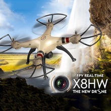 SYMA X8HW X8W Upgrade FPV RC Quadcopter Drone with WIFI Camera 2.4G 4CH 6Axis Headless Mode Helicopter Gifts for Friends