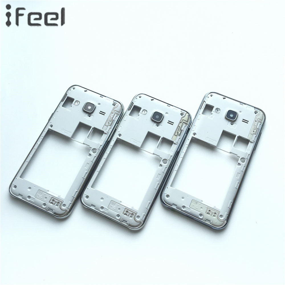 New Middle Plate Frame Bezel Housing+Side Button+Camera Glass Lens For Samsung Galaxy J2 ...