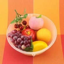 Exports Of high-quality Plastic Kitchenware Edible Plastic Pots Vegetables Basin Bowl Bowl Of Fruit Salad