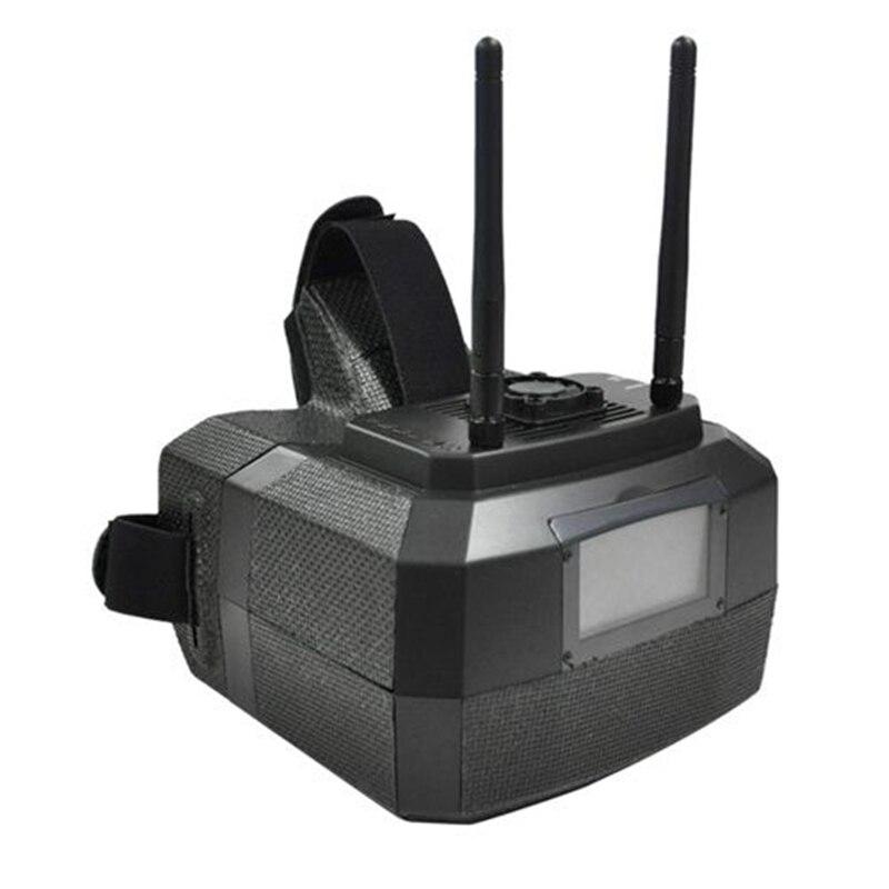 Skyzone GS500 5.8G 48CH Raceband diversité FPV lunettes casque 5 pouces 800*480 lunettes vidéo pour Drones caméra RC