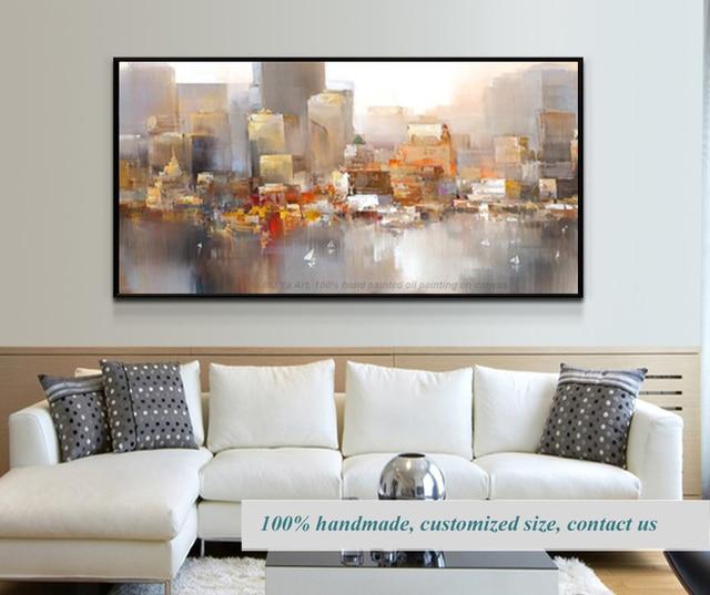 Quadros de parede para sala cuadros modernos abstractos city oil