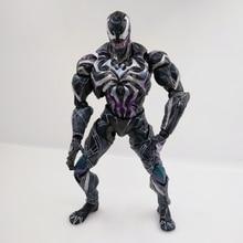 26CM Spiderman Venom Action Figure PVC Anime Avenger Figure Toy Doll Model gift piay arts стоимость
