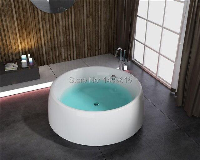 Vasca Da Bagno Freestanding In Acrilico : Rotonda bagno vasca freestanding in fibra di vetro vasca da