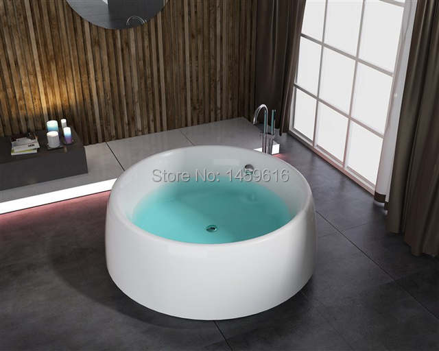 Vasca Da Bagno Freestanding In Acrilico : Online shop rotonda bagno vasca freestanding in fibra di vetro