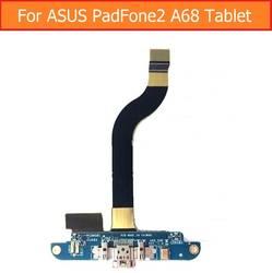Подлинная USB зарядка микрофон PCB разъёму jack совета для Asus Padfone 2 A68 зарядки порт Usb зарядки запасные части