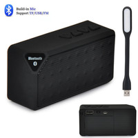 Mini Portable Smart Bluetooth Speaker Wireless Speakers FM Audio Radio Mode Player Column Support TF Card