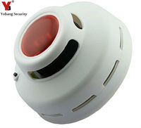 Standalone Smoke Alarm Smoke Detector Alarm Photoelectric Sensor Detects Flaming Fires Hazard Aa Battery Powered