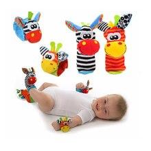 Ponožky a náramky pro miminka s motivem zvířátek
