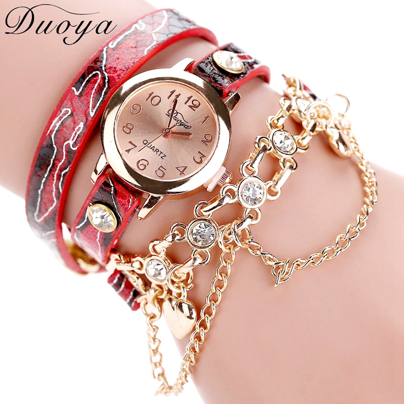 Women Leopard Luxury WristWatch