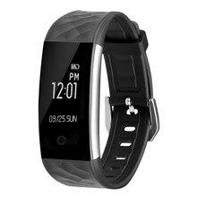 Водонепроницаемый S2 Bluetooth SmartBand Спорт трекер gps-часы сердечного ритма Мониторы уведомления IP67 смарт-браслет для iOS и Android