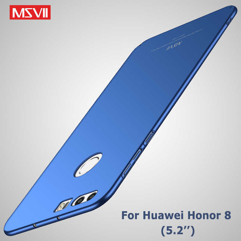 Huawei Honor 8 Case Cover MSVII Brand Coque Huawei Honor8 Lite Case Honor 8lite Slim Scrub PC Cover For huawei Honor 8 Lite Case
