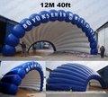 TT16 Сумасшедший Цена Надувные События shell купол Палатки ПВХ 40ft 12 м + бесплатный Reapir комплекты + Бесплатная CE/UL Воздуходувка + Бесплатная Доставка