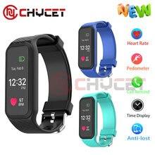 Chycet L38I Smart Браслет Полный Цвет Экран Bluetooth 4.0 пульса Мониторы Смарт-фитнес браслет SmartBand PK miband