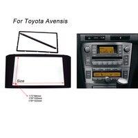 Car Radio Fascia For TOYOTA Avensis Facia Panel Stereo Face Plate Audio Bezel Facia Dash Mount