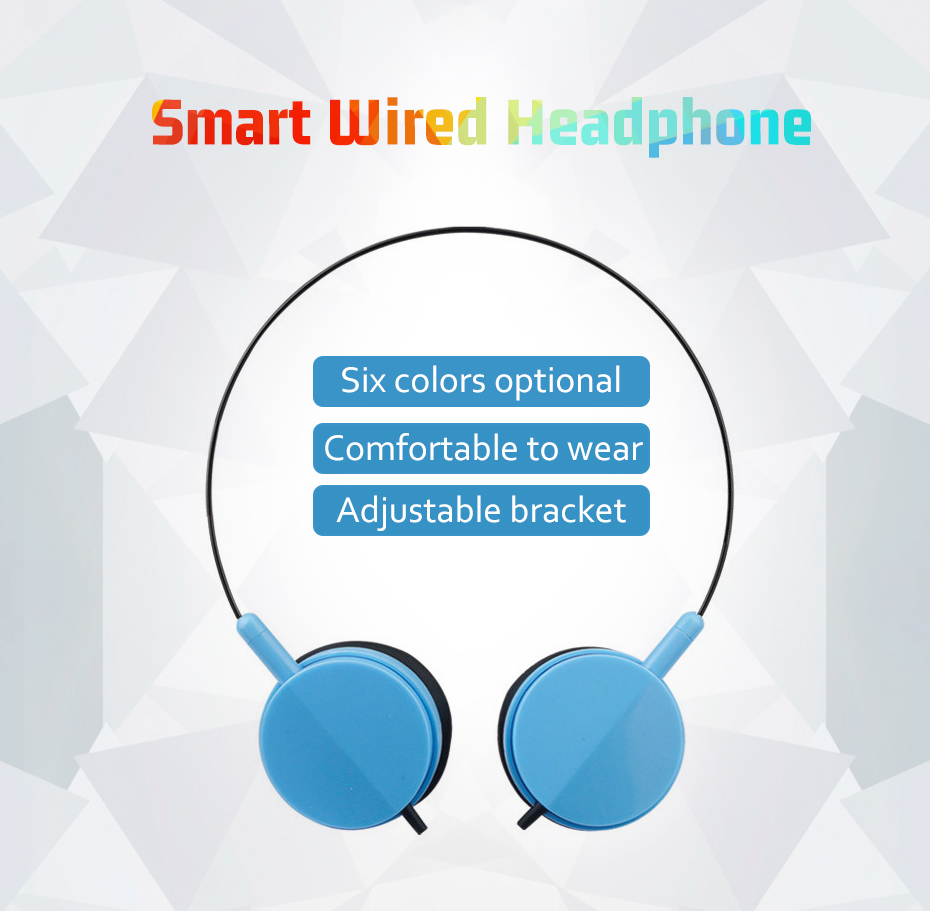 Wired Headphone With Microphone 3.5mm Stereo Music Headphones Portable Sport Headphone For Mobile Phone Computer PC (1)
