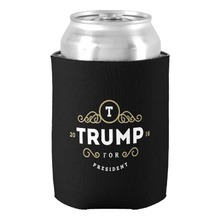 Donald Trump 2016 Can Cooler Beer Holders Father Favors Beer Can Coolers Couple Accessories Favors Beverage Insulator Holders