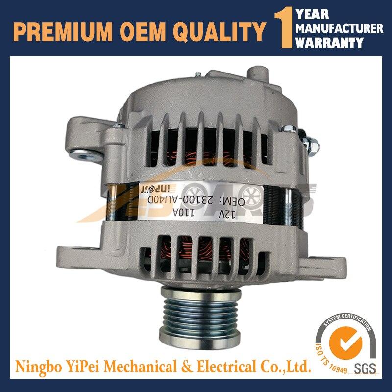 NEUE Lichtmaschine 2.5L Für Nissan ROGUE 08 09 10 11 12, X-TRAIL 05 06 ALT-3529