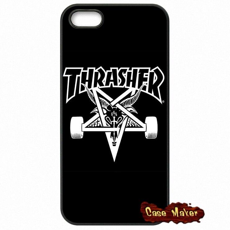 thrasher Logo fashion original Case Cover For iPhone SE 4 4S 5S 5 5C 6 6S