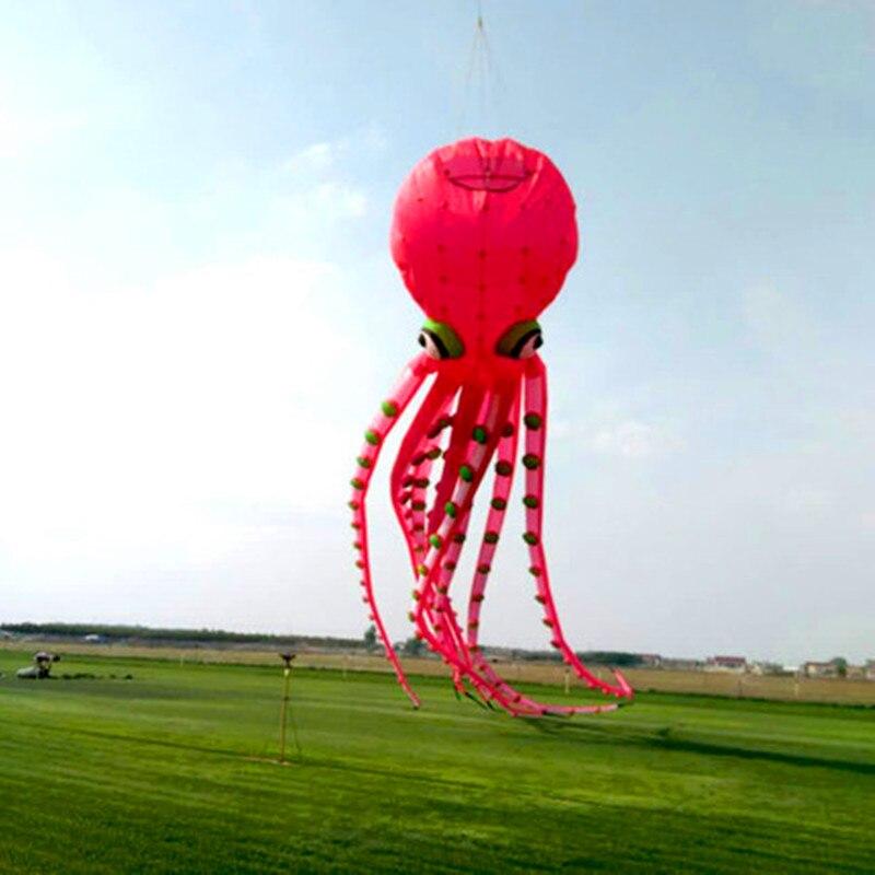 Livraison gratuite grand pieuvre cerf-volant pendentif ripstop nylon tissu alien cerf-volant gonflable pour adultes 3d cerf-volant buggy kitesurf conseil cerf-volant - 3