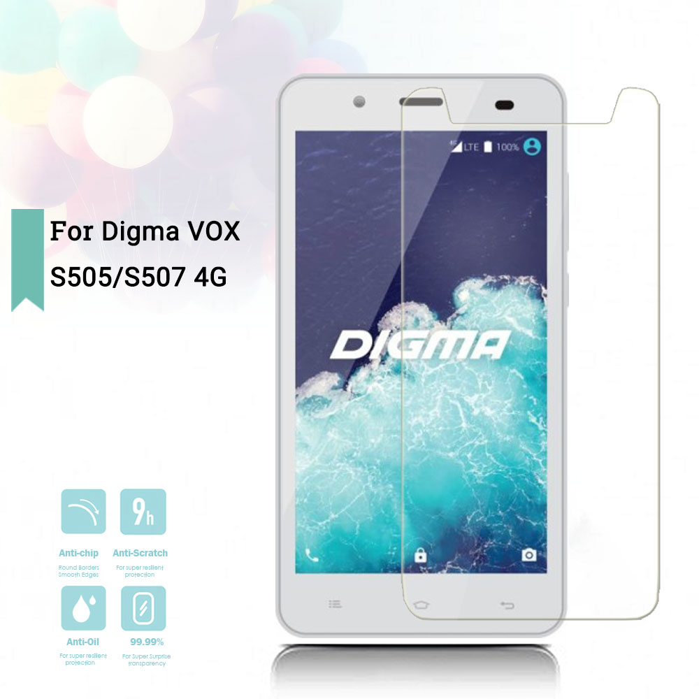 New Screen Protector Phone For Digma Vox G501 4g Phone Tempered Glass Smartphone Film Protective Screen Cover Mobile Phone Accessories