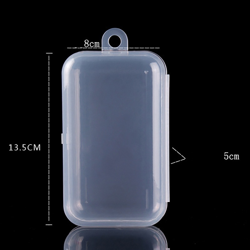 Baby Portable Products Travel Teether Anti Box Fall Holder Toy Transparent Case Storage PP