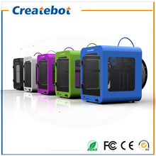 Child Design Createbot Super Mini 3D Printer Metal Frame Single extruder print size 85x80x94mm LCD Control 1GB SD card&PLA free