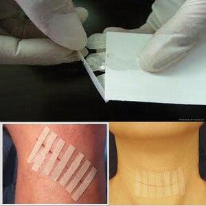 Image 2 - 2 упак./лот, 6*100 мм (10 полосок),12*100 мм (6 полосок), медицинская хирургическая клейкая лента, не требуется для швов