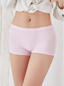 ERAEYE Short-Pants Underwear Knickers Seamless Safety Women's Woman Ladies Comfort Purple