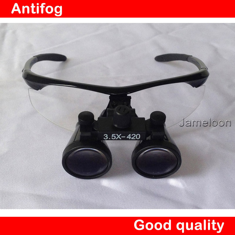 все цены на 100% original 3.5X Magnification Galilean Binocular Medical Magnifier Dentistry Surgical Dental Loupes онлайн