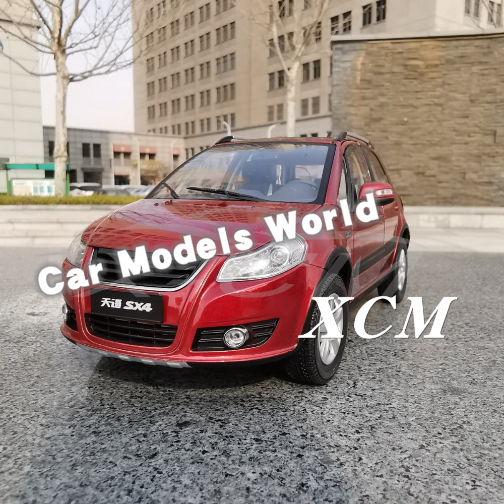 Diecast Car Model for SX4 SUV Orange Red 1 18 SMALL GIFT