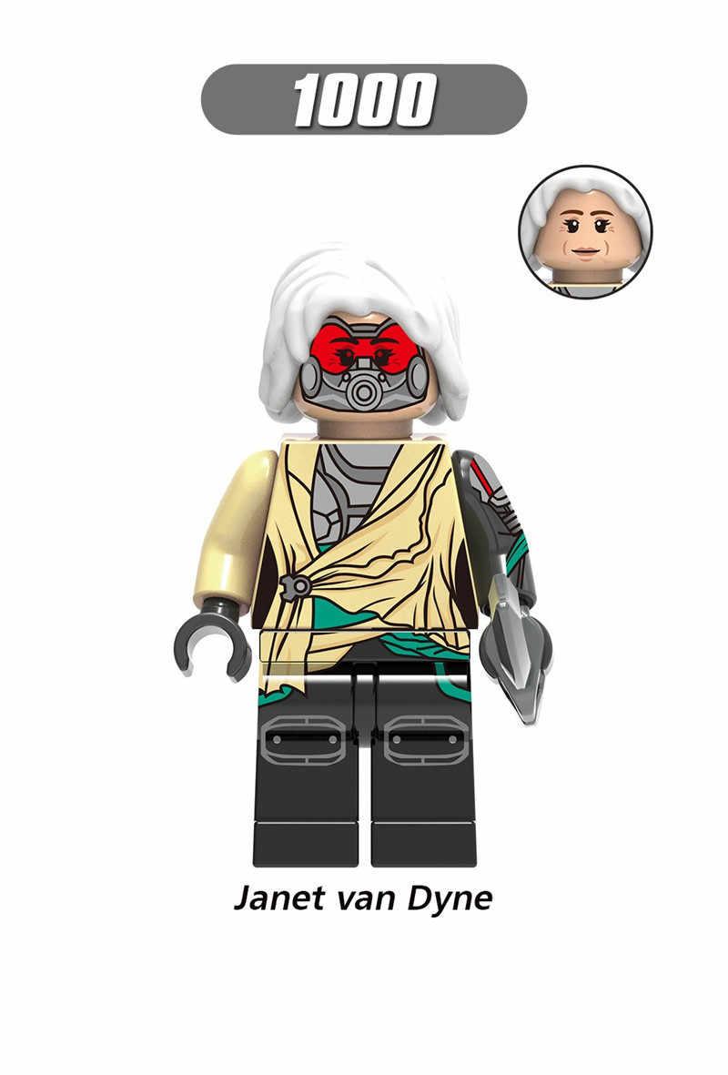 Legoing супер герой мстители, человек-муравей фигурка Луиса ОСА Хэнк Пим Голиаф Билл Фостер антман строительные блоки кирпичи наборы игрушек