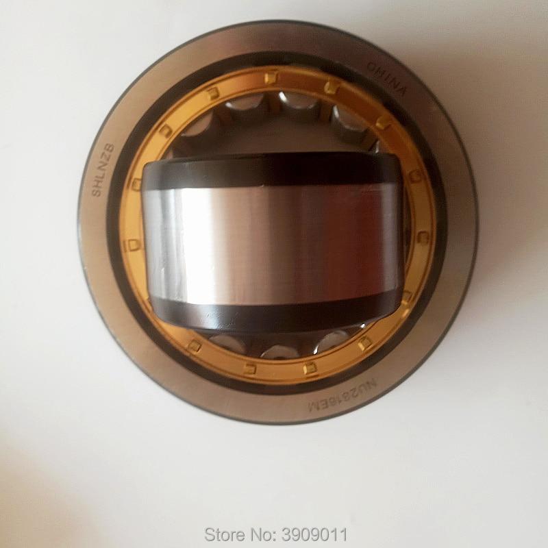 SHLNZB Bearing 1Pcs NU1022 NU1022E NU1022M NU1022EM NU1022ECM 110*170*28mm Brass Cage Cylindrical Roller Bearings shlnzb bearing 1pcs nu2328 nu2328e nu2328m nu2328em nu2328ecm 140 300 102mm brass cage cylindrical roller bearings