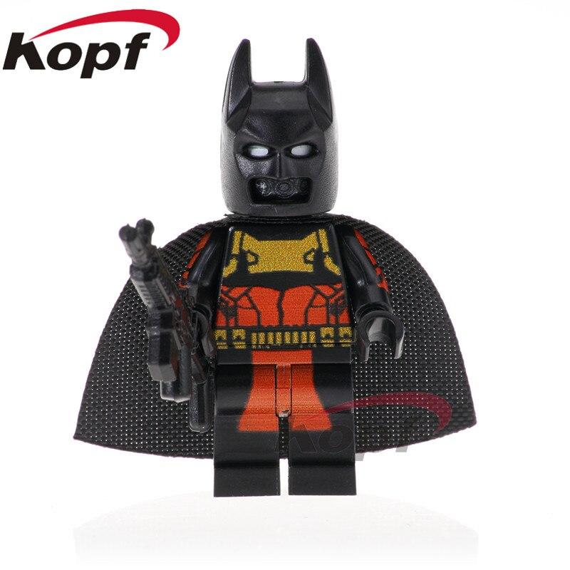Single Super Hero Building Blocks Darkseid Arnim Zola Erik Killmonger Batman Punisher Hope Deadpool Figure Toys For Children For Fast Shipping Blocks