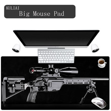 XGZ Personalized Rubber Non-slip Player Mouse Pad Gun Cool Black Bottom Computer MousePad for Rainbow Six Siege Hearthstone