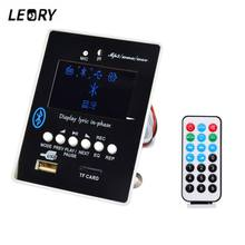LEORY DC8-12V MP3 Decoder DAC Board bluetooth Audio Receiver Module Decoding USB SD WAV WMA AUX FM LED Display(China)