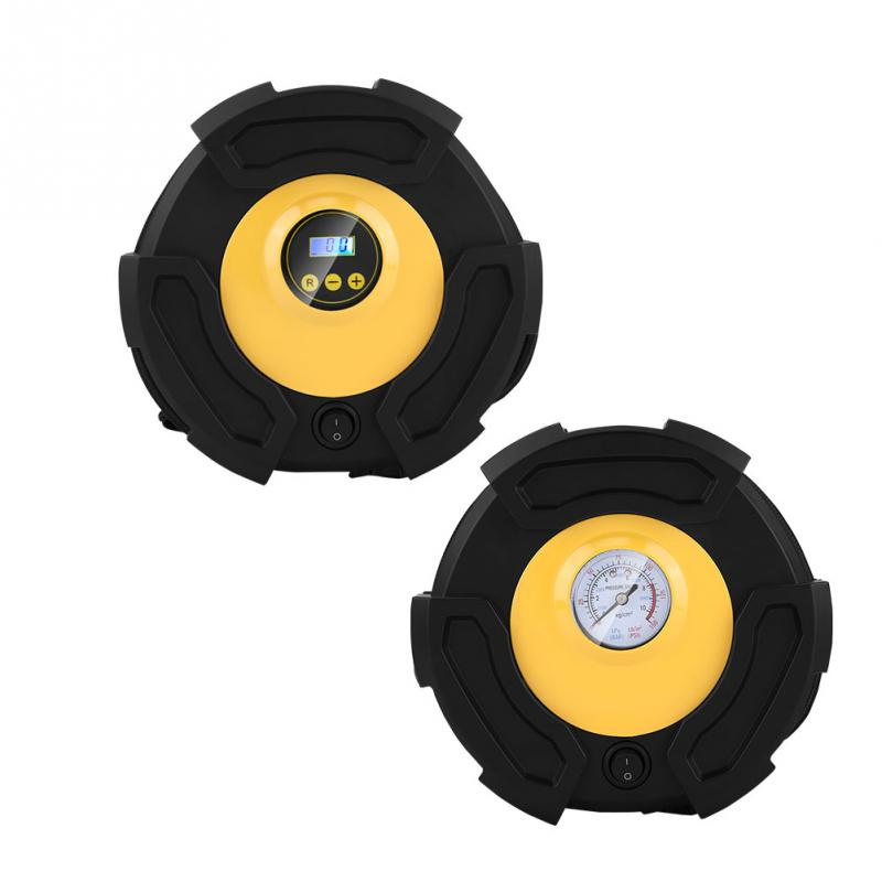 New 12V Auto Electric Air Compressor Portable Pump Car Tire Inflator 100 PSI With 3 Nozzles for Car Bike Ball Boat