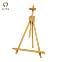Conda Adjustable 45 to 80cm Wodden Easels Medium Portable Beech Wood A Frame Tabletop Easel Advertisement Exhibition