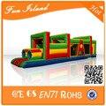 Дешево препятствий, Надувные спортивные игры, Надувной туннель игры на продажу для детей