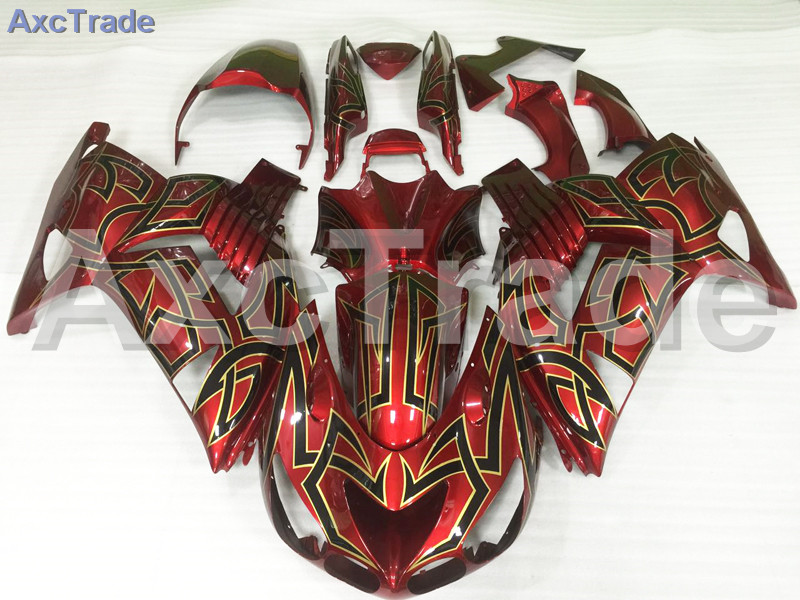 Motorcycle Fairings For Kawasaki Ninja ZX14R ZX-14R ZZ-R1400 ZZR1400 2006 2007 2008 2009 2010 2011 ABS Plastic Injection Fairing motorcycle fairing kit for kawasaki ninja zx10r 2006 2007 zx10r 06 07 zx 10r 06 07 west white black fairings set 7 gifts kd01