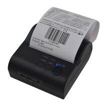 8001LD 80mm Senza Fili Bluetooth Android POS Portatile barcode stampanti di etichette stampante termica per ricevute porta USB/seriale