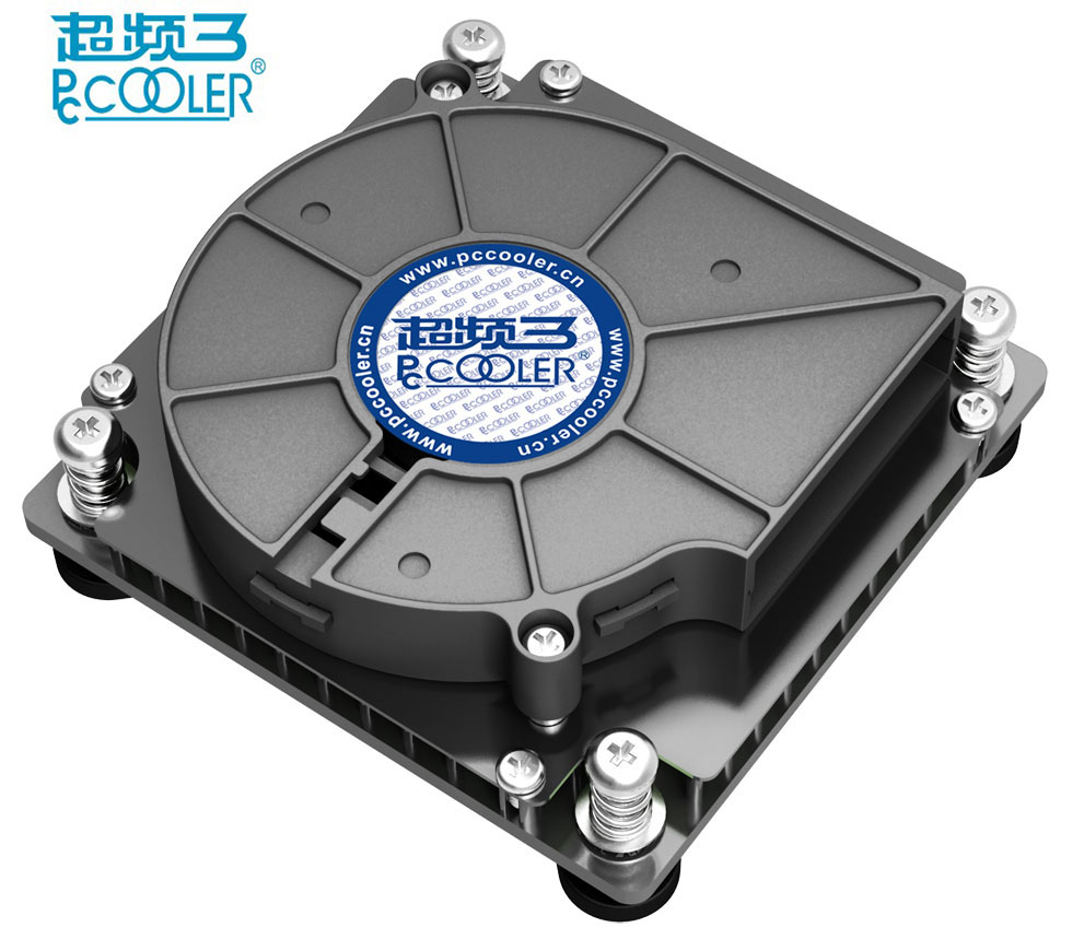 PcCooler C81H Turbo fan 4pin PWM for 1U Server HTPC mini case all-in-one computer Intel 1150 1155 1156 cpu cooler fan radiator футболка casual friday by blend casual friday by blend ca049emowg10