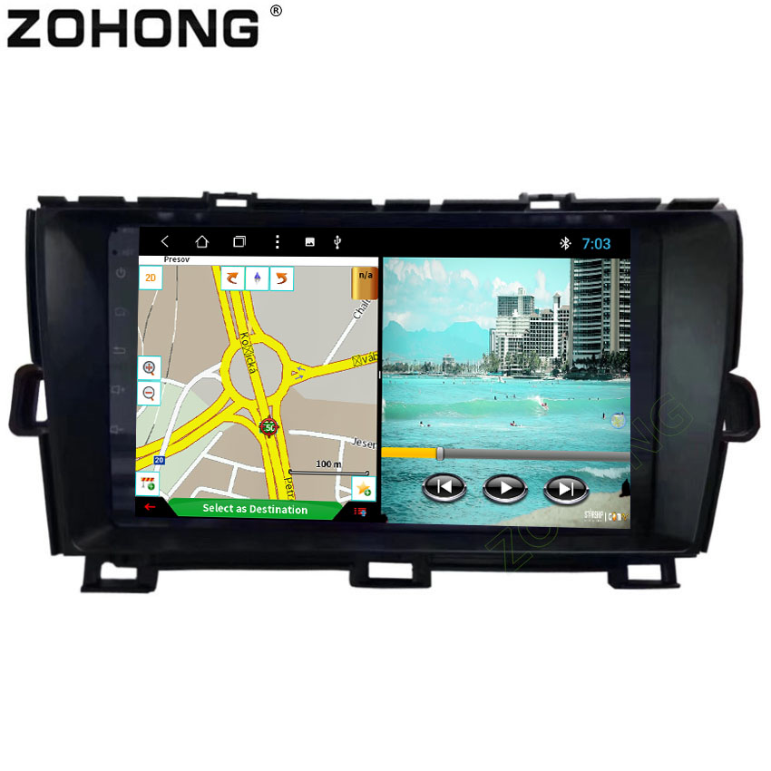 9 inch Octa 8 Core Android 8 1 for Toyota Prius Car DVD Multimedia Player autoradio