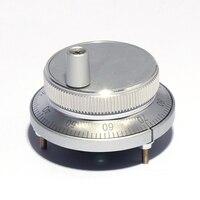 CNC Pulser Handrad 5 V 6pin Puls 100 Manuelle Puls Generator Hand Rad CNC Maschine 60mm Drehgeber-in Druckregler aus Werkzeug bei